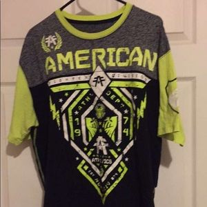 American Fighter xxl - Lime green!